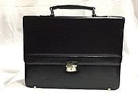 """Мужской деловой портфель """"Cantlor"""",искусственна кожа PVS.. Высота 29 см, длина 38 см, ширина 8 см., фото 1"""