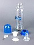 Стеклянная бутылка с силиконовой соской 240 мл, фото 2