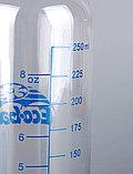 Стеклянная бутылка с силиконовой соской 240 мл, фото 3
