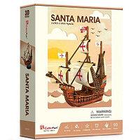 Корабль 3Д-пазл Санта Мария ср.