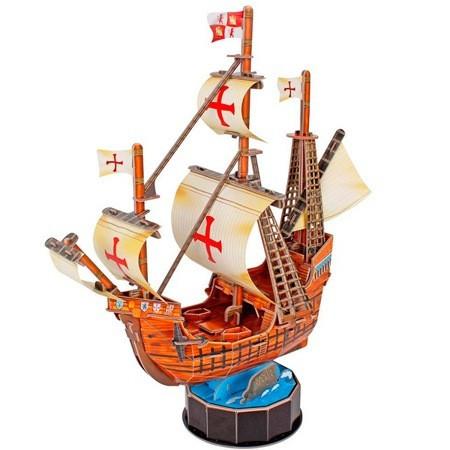 Корабль 3Д-пазл Санта Мария ср. - фото 2