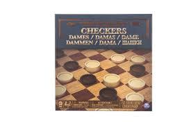 Настольная игра Spin Master шашки классические компактные