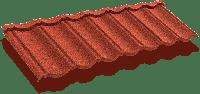 Композитная черепица ТЕХНОНИКОЛЬ LUXARD Classic Бордо, фото 1