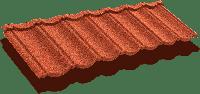 Композитная черепица ТЕХНОНИКОЛЬ LUXARD Classic Коралл, фото 1