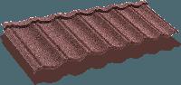 Композитная черепица ТЕХНОНИКОЛЬ LUXARD Classic Мокко, фото 1