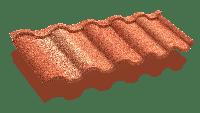 Композитная черепица ТЕХНОНИКОЛЬ LUXARD  ROMAN  Оникс, фото 1