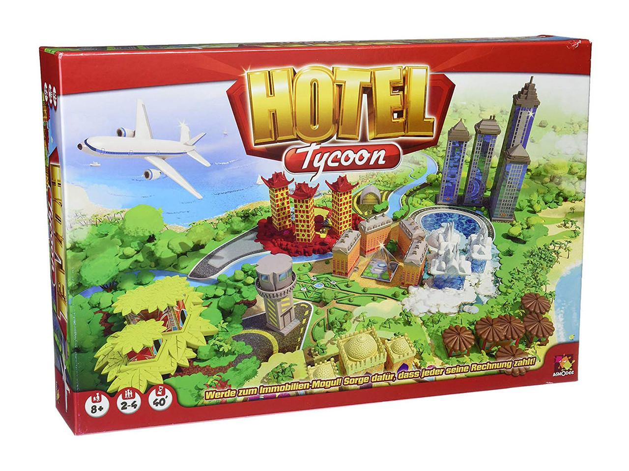 Игра настольная Отель Тайкун (Hotel Тycoon)