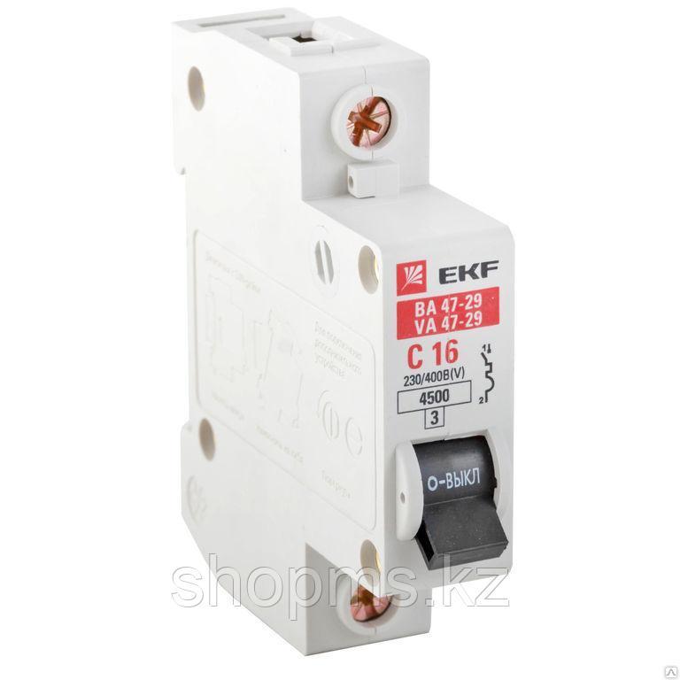 Авт. выключатель ВА 47-63 16А 1п EKF Proxima