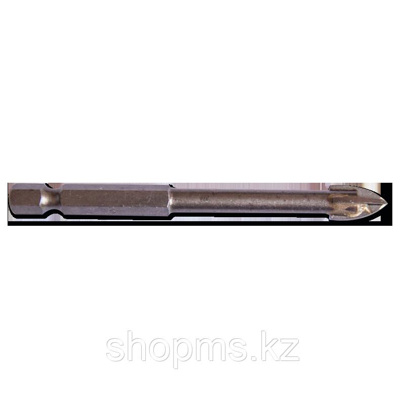 Сверло по кафелю, шестигранный U-хвостовик под биту 12 мм