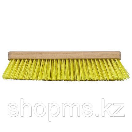 Щетка для пола деревянная овальная (тротуарная), 6-ти рядная, 275 мм***, фото 2