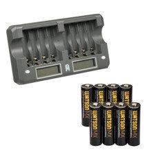 Зарядные устройства, аккумуляторы и батарейки AA, AAA