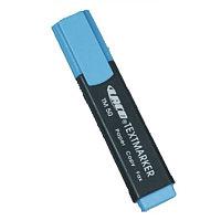 Маркер текстовой, 0.4мм, скошенный наконечник, синий Laco