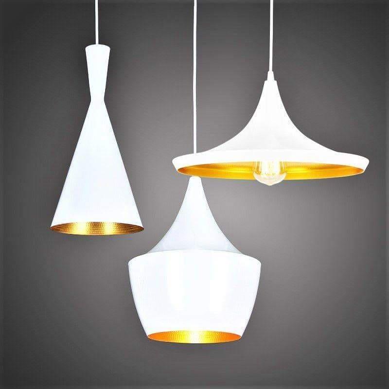 Светильник в силе LOFT на 3 лампы белый