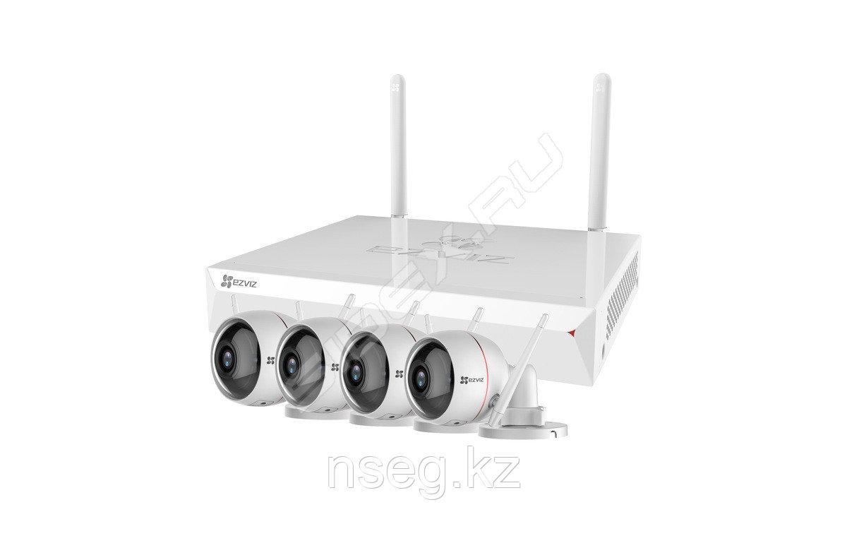 Комплект беспроводного видеонаблюдения  ezWireLess Kit 8 CH
