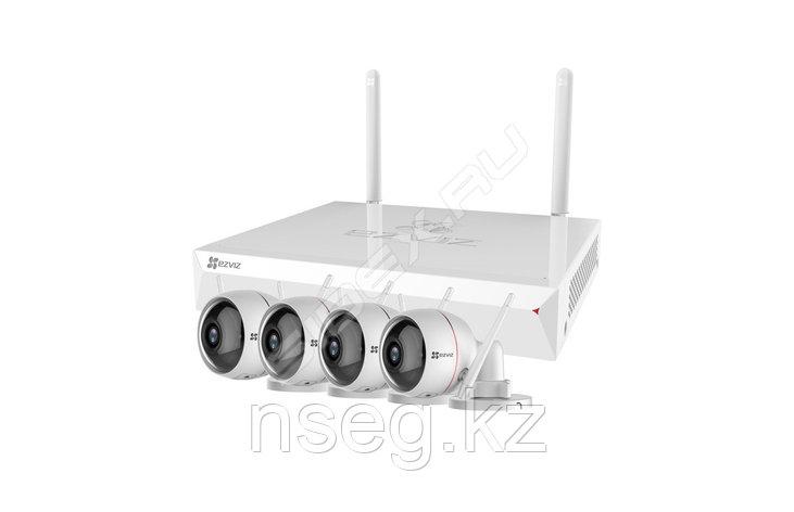 Комплект беспроводного видеонаблюдения  ezWireLess Kit 8 CH, фото 2