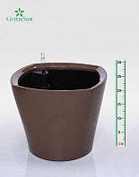Кашпо с поливом автоматическим 35х30cmH