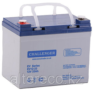 Тяговый аккумулятор Challenger EV12-33 (12В, 33Ач), фото 2