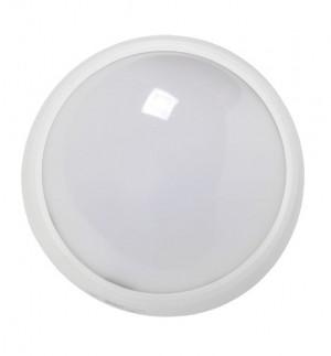 Светильник настенно - потолочный, накладной ДПО 3010 Круг. 8w IP54 белый.