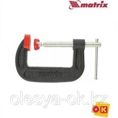 Струбцина G-образная, 125 мм. MATRIX MASTER