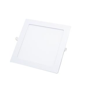 Спот встраиваемый LED. KVADRO/R 12w d166x166 4000K белый.