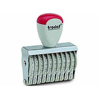 Ленточные нумераторы trodat 10 строчный 15410