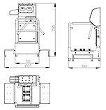 Санпропускник для чистки подошв и их боковой части 10.4010.35, фото 2
