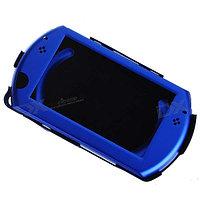 Чехол защитный алюм. ультратонкий Sony PSP Go Aluminum Case, синий, фото 1