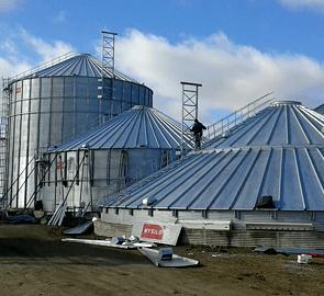 Комплексы для хранения зерна