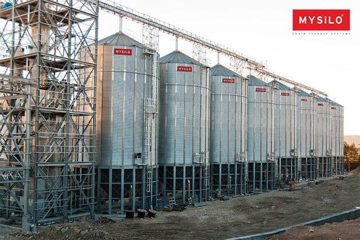 Силос майсило для зерна, фото 2