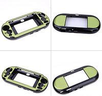 Чехол защитный алюм-металл Sony PS Vita Different Material Case Protective Case, зеленый , фото 1