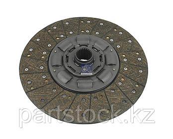 Диск сцепления 430 mm  24 зуб открытые пружины (6 шт)  на / для SCANIA, СКАНИЯ, DT 1.13300