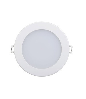 Спот панель круглый встраиваемый LED. 7w 4000K d130 бел.