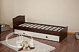 Кроватка-трансформер Кирюша С 859 Н(сл.кость/шоколад,белая,сл.кость), фото 5