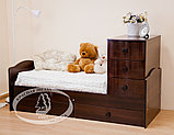 Кроватка-трансформер Кирюша С 859 Н(сл.кость/шоколад,белая,сл.кость), фото 9
