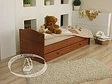 Кроватка-трансформер Кирюша С 859 Н(сл.кость/шоколад,белая,сл.кость), фото 10
