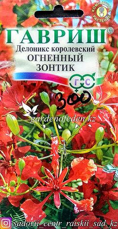 """Семена пакетированные Гавриш. Делоникс королевский """"Огненный зонтик"""", фото 2"""