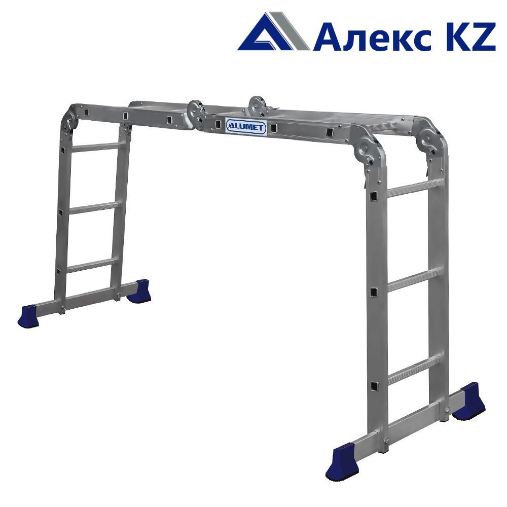 Лестница-транформер  Alumet серия TL 4033, 4-х секционная.