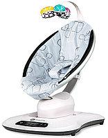 Кресло - качалка MamaRoo4 Silver Plush (4Moms, США)