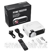 AUN E400 LED-проектор для дома и офиса 800 x 480P Linux Поддержка HDMI / USB / Audio / AV / VGA