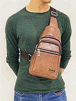 Наплечная сумка Jeep, кобура (мужская барсетка) с бесплатной доставкой, фото 1