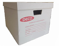 Архивный контейнер с крышкой 385 х 320 х 290