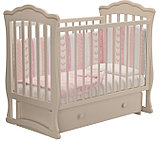 """Кровать детская """"Вэлла 2"""" (Базовая + маятник ) Можгинский лесокомбинат(белая,слон.кость), фото 8"""