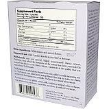 Стевия, подсластитель без калорий, 100 пакетиков в коробке, 100 г, NuNaturals, фото 2
