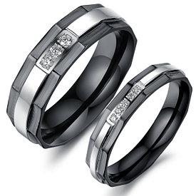 Парные кольца для влюбленных