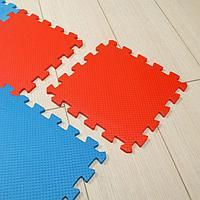 Универсальный коврик 25*25(см) красно-синий, фото 1