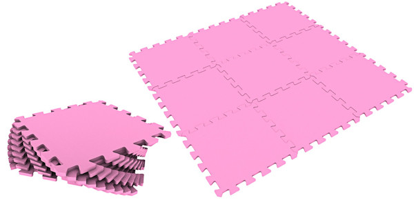 Универсальный коврик 33*33(см) розовый