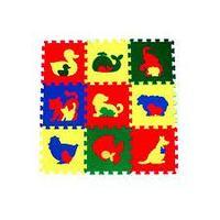 Универсальный коврик Животные 33*33(см), 9 дет. 1(м2)