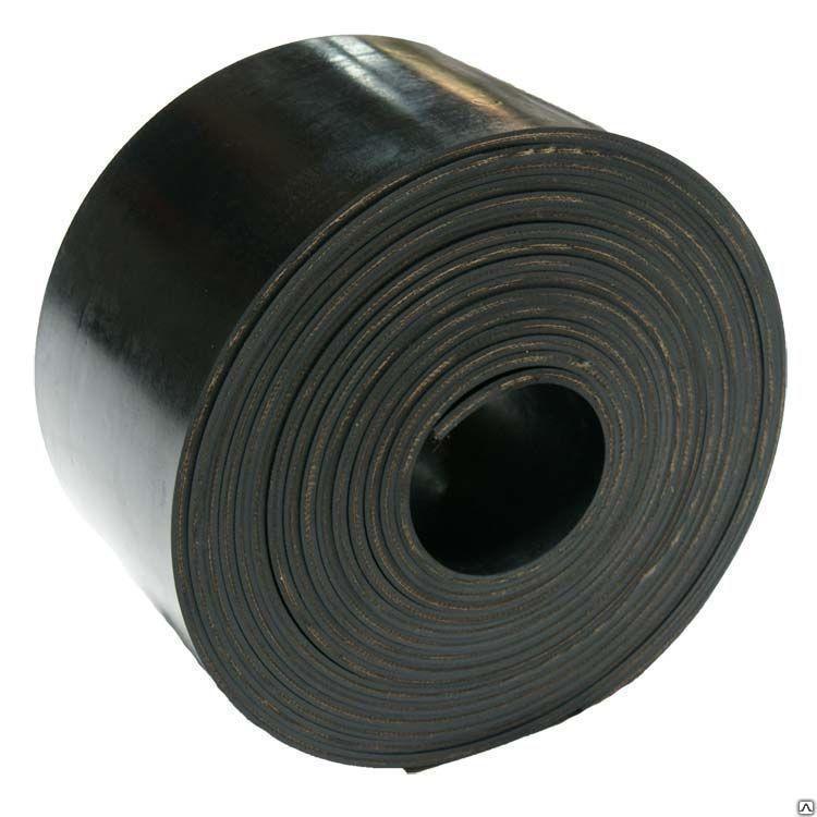Транспортерная конвейерная лента ширина 500 мм,  толщина 6 мм.2-х слойная.