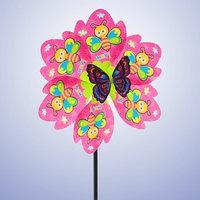 Ветерок 'Пчёлки', с бабочкой, цвета МИКС