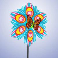 Ветерок 'Цветок', с бабочкой, виды МИКС